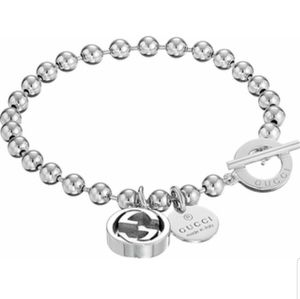 Gucci Boule Bracelet W/ Interlocking G Charm